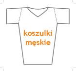 t-shirt męski v-neck slim fit, nadruk bezpośredni – rozmiarówka